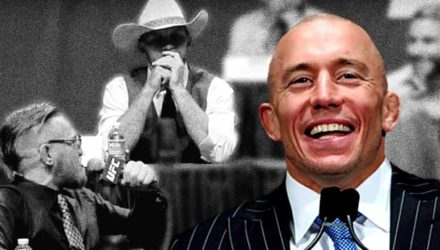 Georges St-Pierre - Conor McGregor vs Cowboy Cerrone