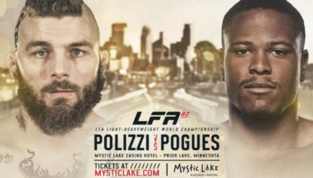 LFA 82 Polizzi vs Pogues fight poster
