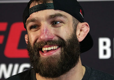 Michael Chiesa - UFC Raleigh post-fight