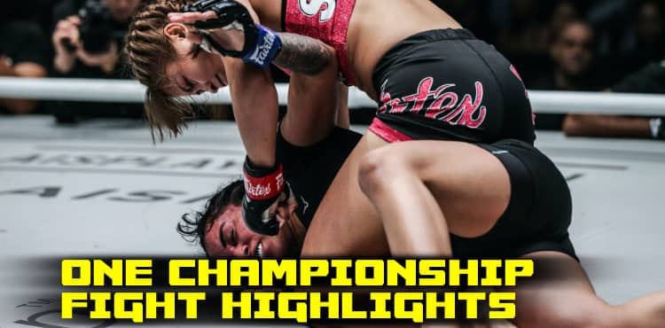 ONE Championship New Tomorrow Fight Highlights