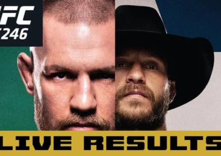 UFC 246 McGregor vs Cowboy live results