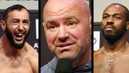 Dominick Reyes - Dana White - Jon Jones