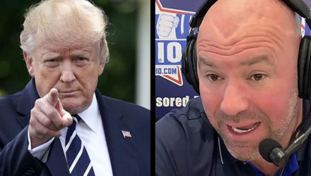 Donald Trump and Dana White