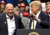 Dana White stumps for Donald Trump Colorado Springs