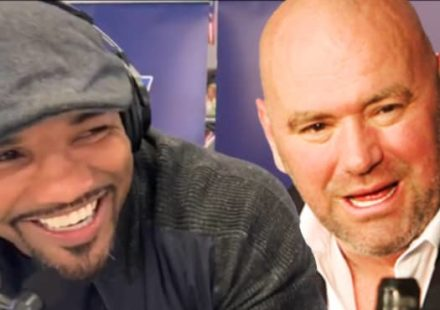 Yoel Romero wants to body slam Dana White