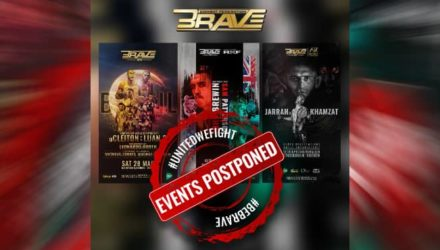 Brave CF postpones all upcoming events