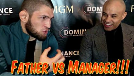 Khabib - dad vs manager