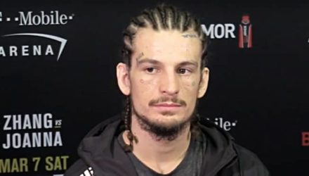 Sean O'Malley victorious at UFC 248