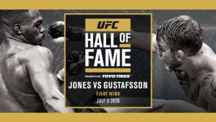 UFC 2020 Hall of Fame - UFC 165 Jones vs Gustafsson fight