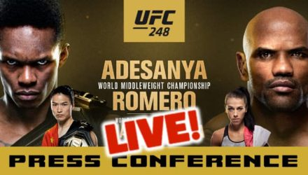 UFC 248 Adesanya vs Romero live press conference
