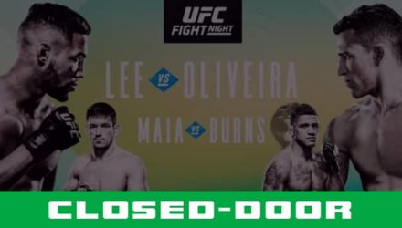 UFC Brasilia closed door
