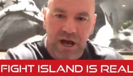 Dana White - Fight Island is real