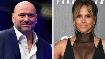 Dana White and Halle Barry - All In Challenge