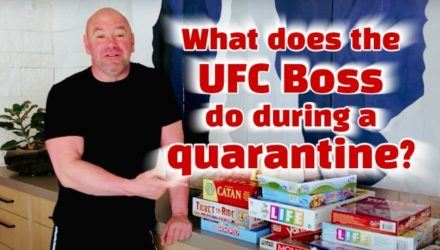Dana White - quarantine