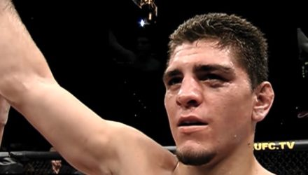 Nick Diaz following his UFC debut
