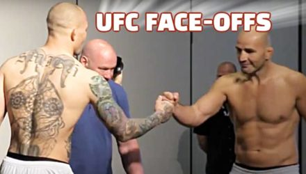 Anthony Smith vs Glover Teixeira UFC Jax faceoff