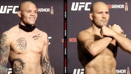 Anthony Smith vs Glover Teixeira UFC weigh-in