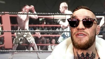 Conor McGregor first mixed martial arts fight