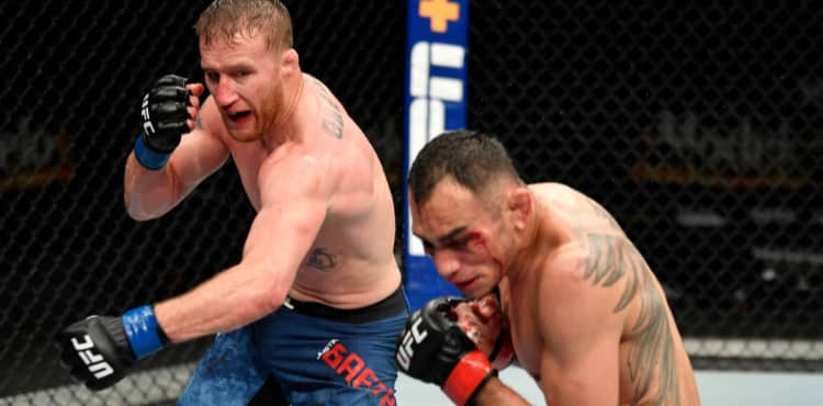 Watch Justin Gaethje become the first fighter to KO Tony Ferguson ahead of UFC 254