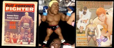 Kevin Randleman figure and magazines