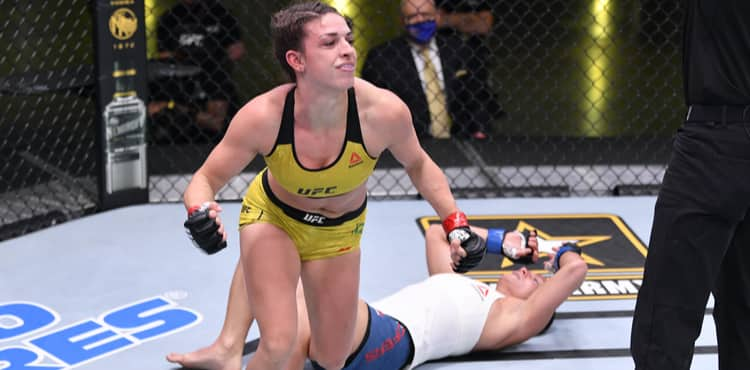 Take a look back at Mackenzie Dern's UFC rise thumbnail