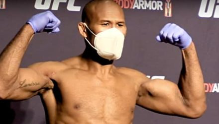 Ronaldo Jacare Souza UFC 249 weigh-in