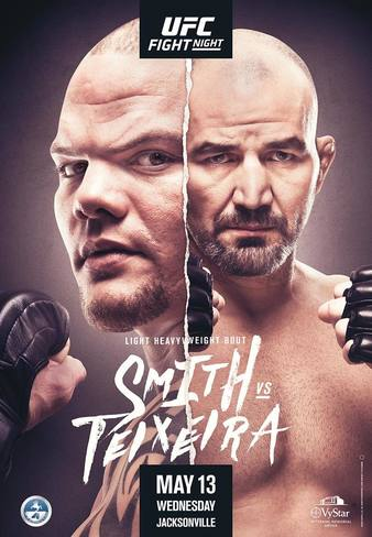 Ufc On Espn 33 Smith Vs Teixeira Fight Card On May 13 Mmaweekly Com