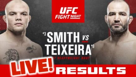 UFC Smith vs Teixeira live results