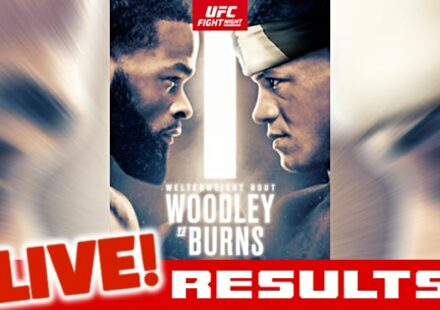 UFC Woodley vs Burns live results