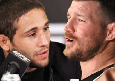 Chad Mendes vs Michael Bisping