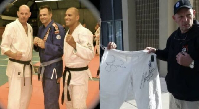 Gegard Gordeau and Royce Gracie