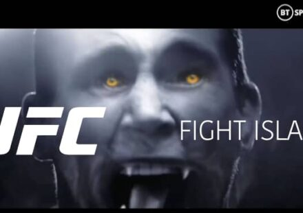 UFC Fight Island BT Sport cinematic promo