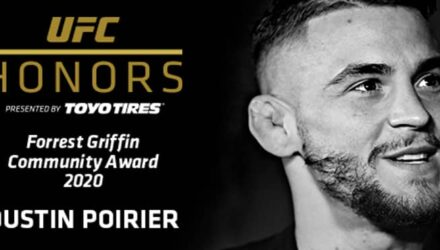 UFC Honors Dustin Poirier
