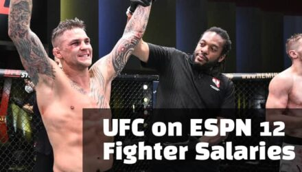 UFC on ESPN 12 Fighter Salaries