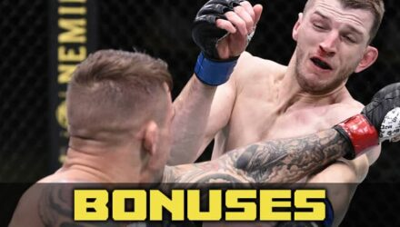 UFC on ESPN 12 fighter bonuses