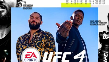 UFC 4 - Masvidal and Adesanya cover
