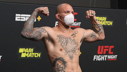 Anthony Smith - UFC Vegas 8 weigh-in