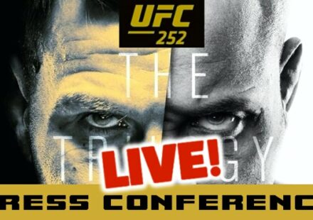 UFC 252 Miocic vs Cormier live press conference