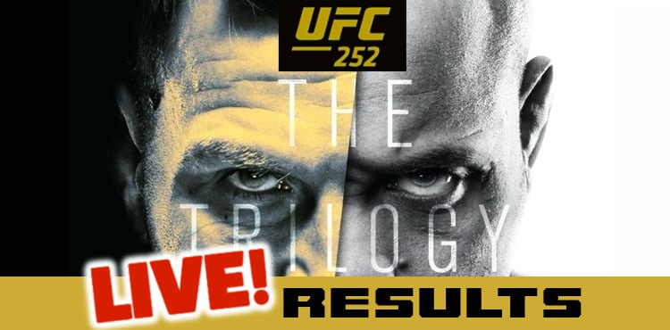 Ufc 252 Miocic Vs Cormier 3 Live Results Mmaweekly Com
