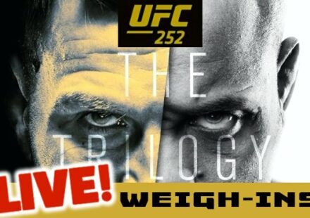 UFC 252 Miocic vs Cormier live weigh-ins