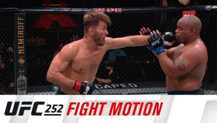 UFC 252 fight motion highlights