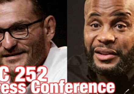 UFC 252 press conference