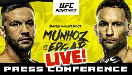 UFC Munhoz vs Edgar live press conference