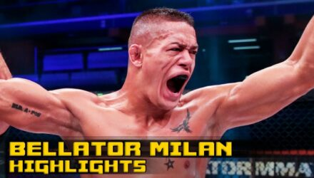 Bellator Milan van Steenis Fight Highlights