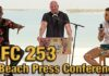 UFC 253 Beach Press Conference
