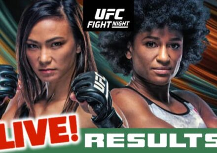 UFC Waterson vs Hill live results