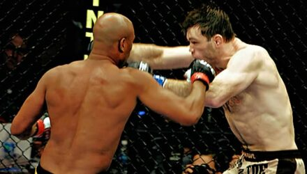 Anderson Silva cracks Forrest Griffin at UFC 101