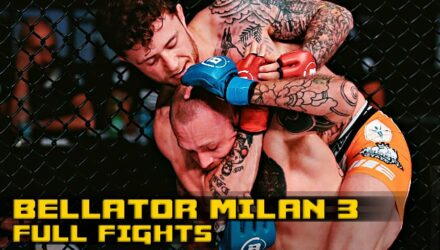 Bellator Milan 3 Full Fight video