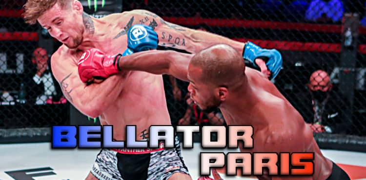 Bellator Paris full fight card video and full results