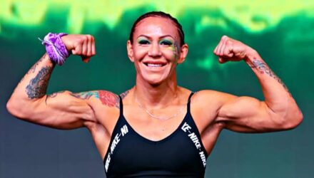 Cris Cyborg Bellator 238 weigh-in